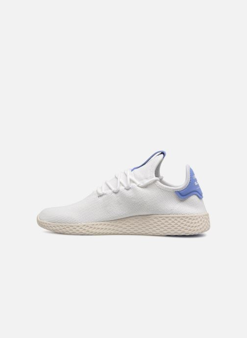 Sneaker Adidas Originals Pharrell Williams Tennis Hu weiß ansicht von vorne